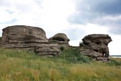 Каменные палатки. Село Аллаки