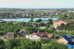 Вид на Красноармейский пруд