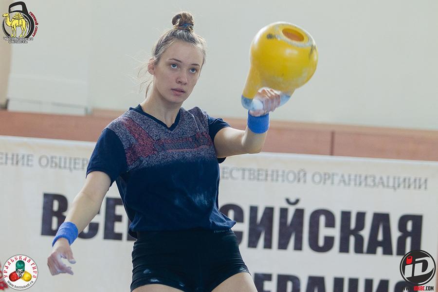 Бронзовый призёр Оксана Зыкова
