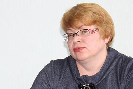 Главврач Каслинской райбольницы Ольга Щеглова