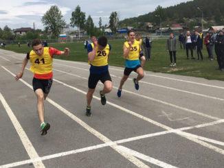 Дмитрию Исаенко, Данил Нажмутдинов, Кирилл Протозанов, финишный этап эстафеты, 100 м