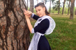 Кристина КОВАЧ выпускница Багарякской школы