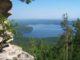 Вид на озеро Аракуль с горы Шихан
