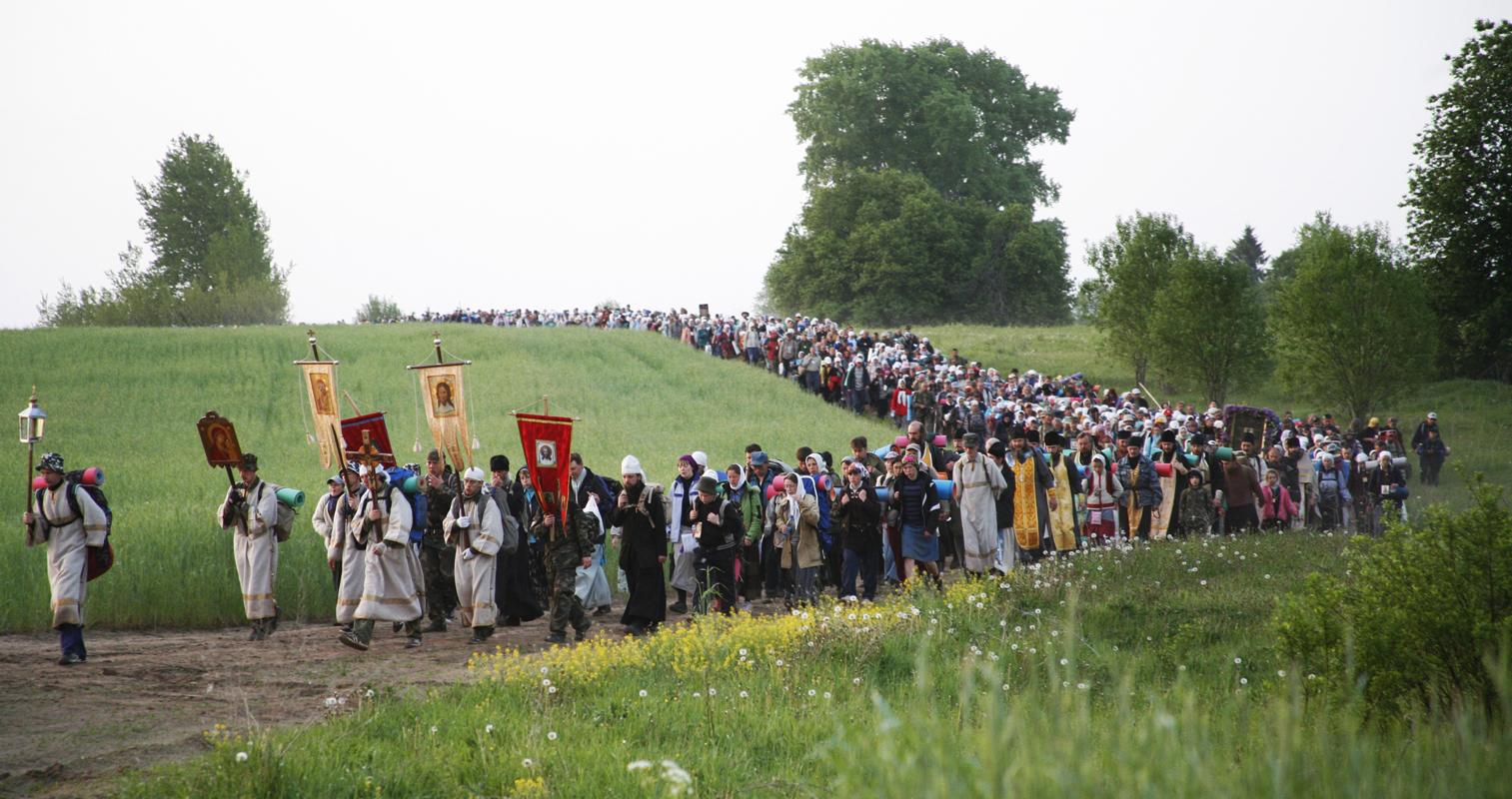 Крестный ход по селам Каслинского района