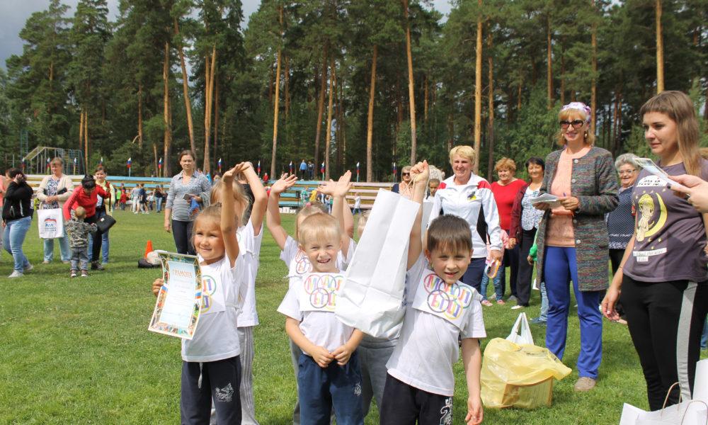 Победители и призеры детской спартакиады «Олимпик»
