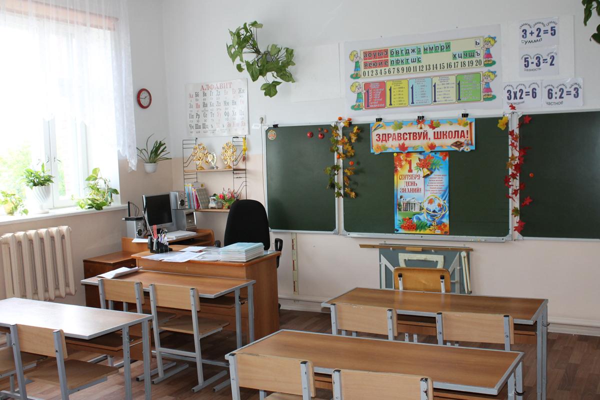 После косметического ремонта классы Воздвиженской школы стали светлее и красочнее