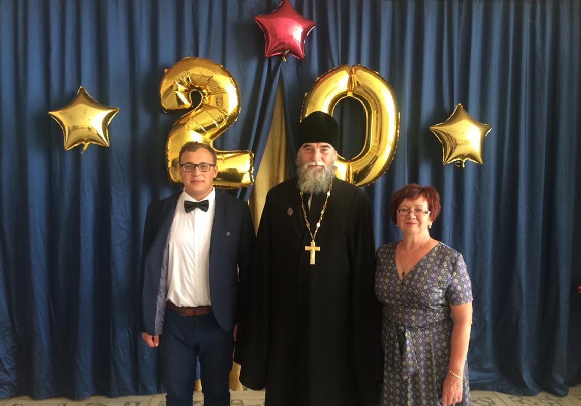 Вадим Вагайцев, отец Георгий и матушка Марина