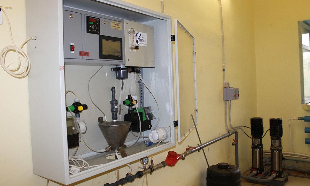 Новая установка по производству диоксида хлора типа ДХ-500