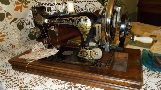 Швейная машинка Марии Федоровны