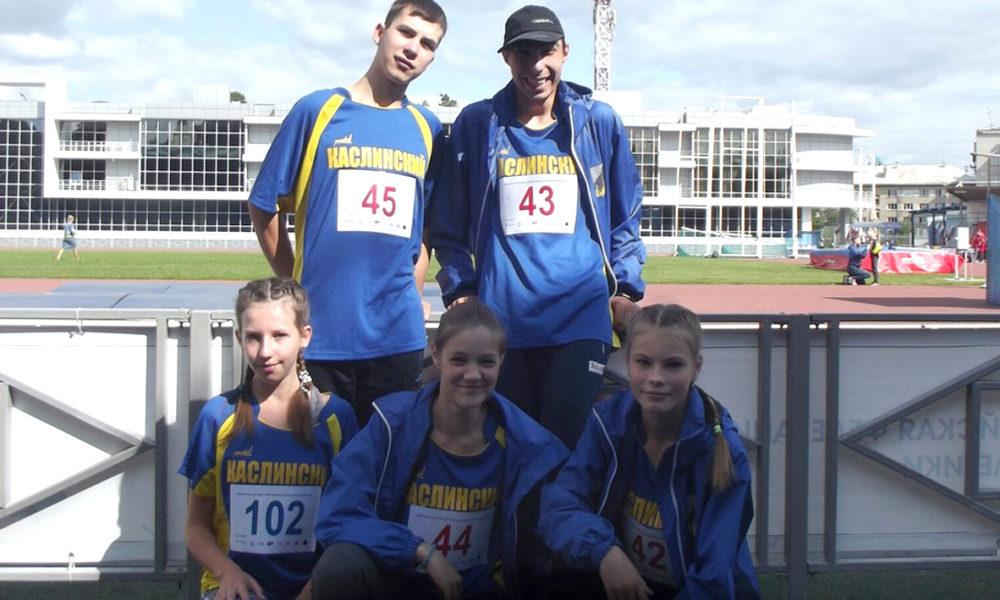 Каслинские спортсмены успешно приняли участие в областной летней Спартакиаде