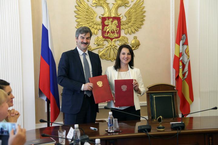 Евгений Редин и Ирина Слуцкая