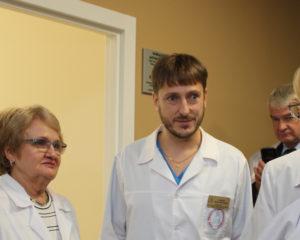 главный врач ОПЦ Юрий Семенов