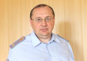 Роман Дмитриевич Войщев, начальник отдела МВД России по Каслинскому району Челябинской области
