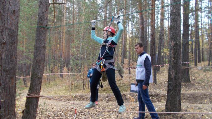 В Каслях прошли соревнования по спортивному туризму на пешеходных дистанциях среди учащихся школ района