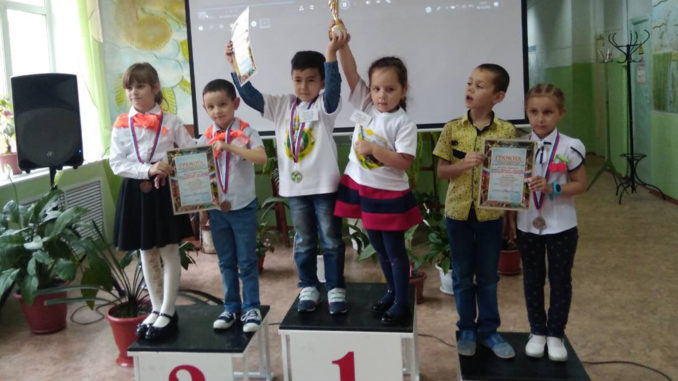 Русские шашки для самых юных спортсменов Каслинского района