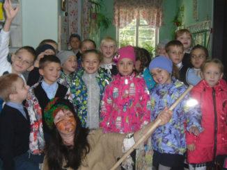Ознакомительная экскурсия первоклассников в детскую библиотеку п. Вишневогорск