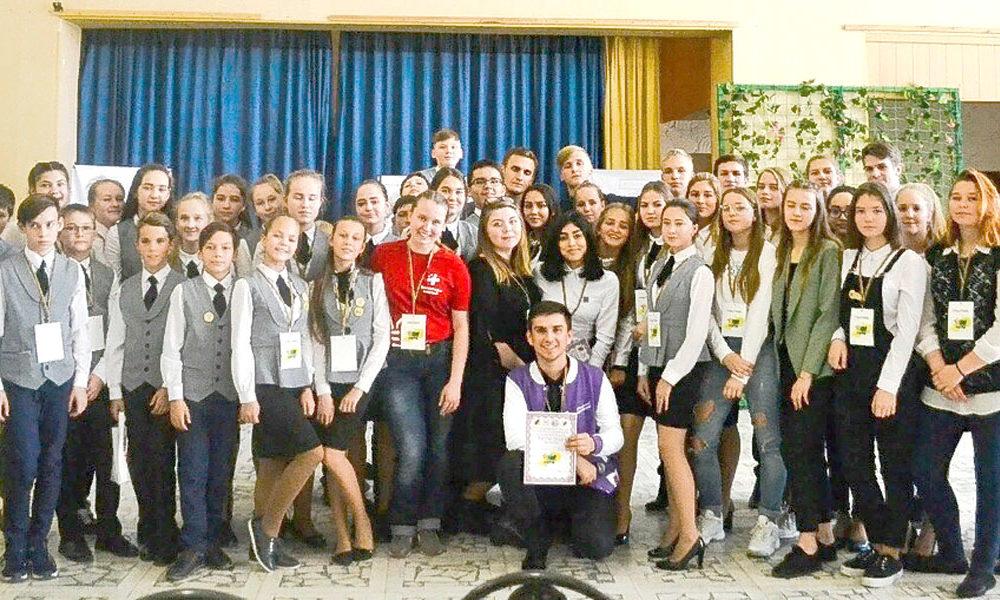 Участники форума «РИТМ-2018», что расшифровывается как Регион Инициативной, Талантливой Молодёжи»