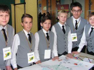 Ученики 8 «Б» класс, школы №25