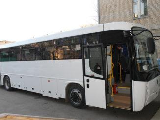 Каслинский район получил новый комфортабельный автобус
