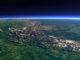 Уральские горы из космоса
