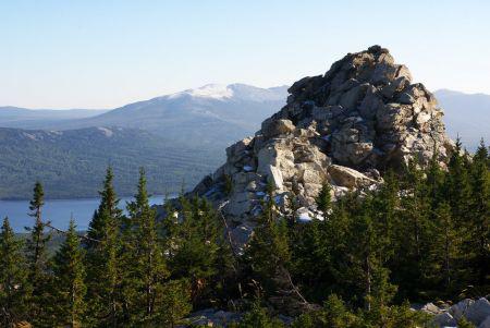 Высшая точка Южного Урала - гора Нургуш