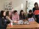 Студентки 3-го курса дошкольного отделения Каслинского промышленно-гуманитарного техникума с преподавателем Светланой Геннадьевной Широковой работают над проектом «Оазис в детском саду»