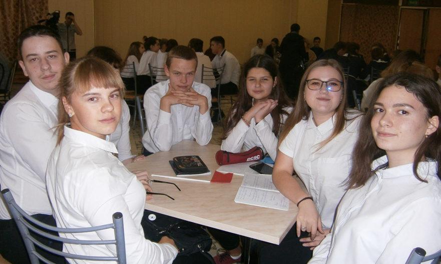 В Каслях школьники проверили знания своих прав и обязанностей