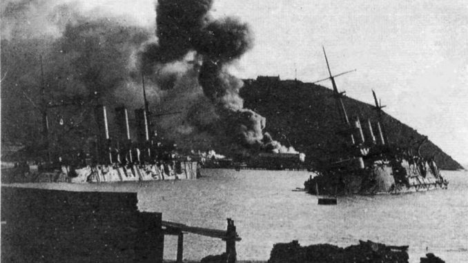 Оборона крепости Порт-Артур