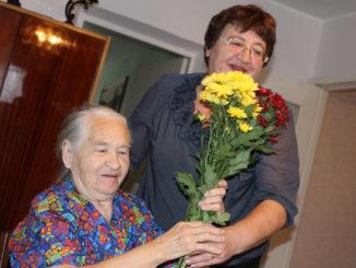 Валентина Васильевна Широкова с дочерью Татьяной