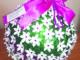 Новогодний шар, выполненный Полиной Дорогиной