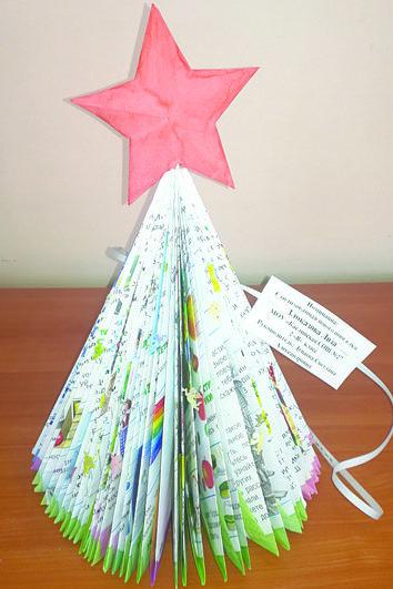 Новогодняя елка Лизы Злоказовой