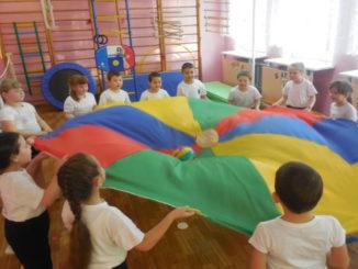 Физкультура в Береговском детском саду «Сказка»