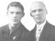 Братья Голышевы. Иван (слева) и Николай