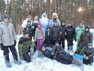 Воспитанники Каслинского Центра помощи детям весело провели новогодние каникулы