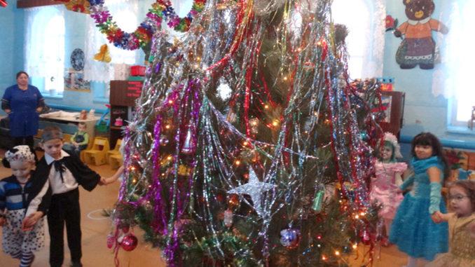 Новый год в Тиминской «Улыбке»