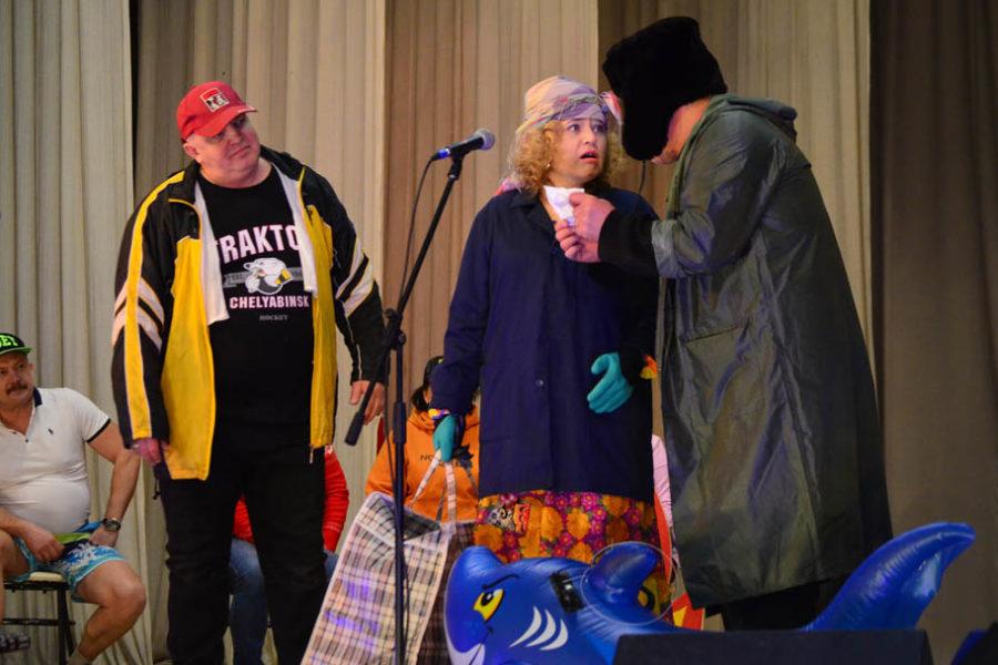 Спустя 35 лет сборная театрального коллектива «Диалог» снова на каслинской сцене