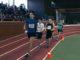 Первый круг 3000-метровки. Под номером 73 бежит Илья Язовский