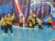 В Каслях прошли соревнования по чир спорту
