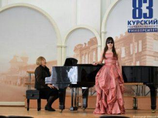 Участие в фестивале «Студенческая весна соловьиного края» стало для Анастасии бесценным опытом выступления на сцене перед публикой