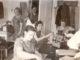 Швейный цех Вишневогорского ателье. В дверях стоит Андрей Семенович Куперман