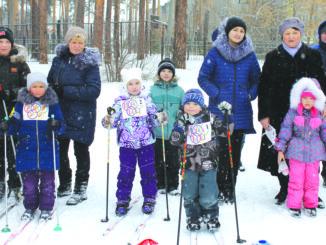 Спартакиада каслинских дошкольников «Олимпик»