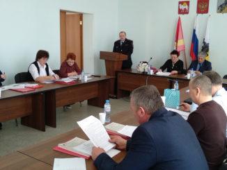 Роман Войщев представляет данные по регистрации и раскрываемости правонарушений