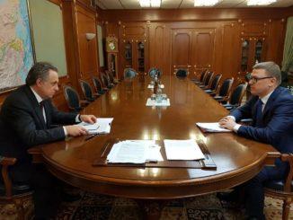 Виталий Мутко провел рабочую встречу с Алексеем Текслером