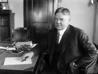 31-й президент США Герберт Кларк Гувер