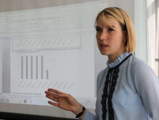 Татьяна Зацепина, председатель спорткомитета администрации Каслинского района