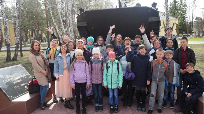 Участники и зрители пасхального концерта в Озерске