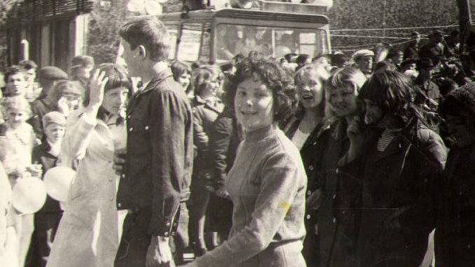 Фото из семейного архива И. В. Белоуса. 1975-76 гг.