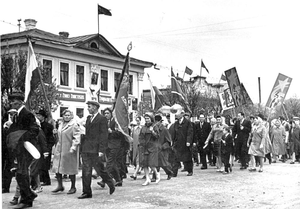 Фото из семейного архива Е. Н. Шалимова. 1967-68 гг.