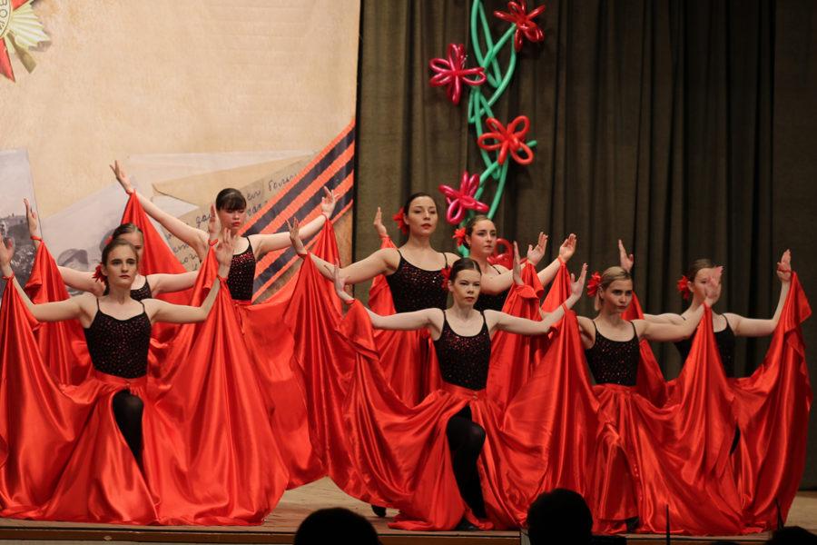Испанскиое танго в исполнении старшей нруппы танцевального коллектива HaoS