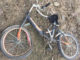 Мотоциклист сбил велосипедистку